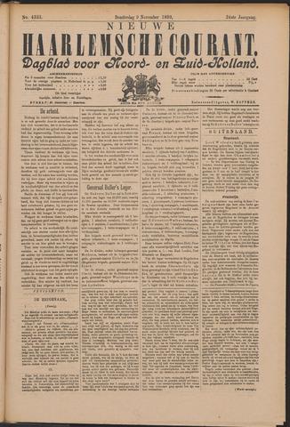 Nieuwe Haarlemsche Courant 1899-11-09