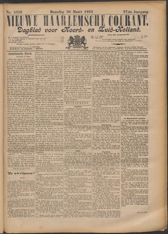 Nieuwe Haarlemsche Courant 1903-03-30