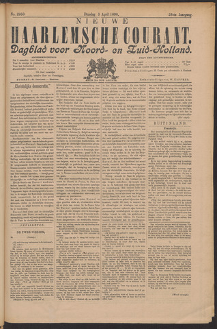 Nieuwe Haarlemsche Courant 1898-04-05