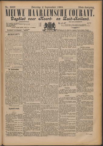Nieuwe Haarlemsche Courant 1905-09-02