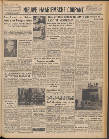 Nieuwe Haarlemsche Courant 1951-02-16