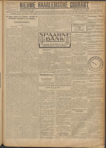 Nieuwe Haarlemsche Courant 1927-09-24