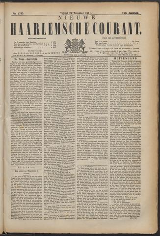 Nieuwe Haarlemsche Courant 1891-11-27