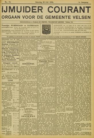 IJmuider Courant 1916-07-22