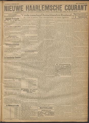 Nieuwe Haarlemsche Courant 1918-02-11