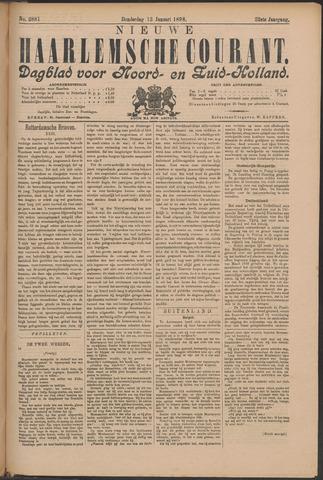 Nieuwe Haarlemsche Courant 1898-01-13