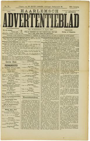 Haarlemsch Advertentieblad 1889-04-17