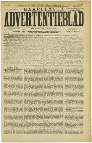 Haarlemsch Advertentieblad 1898-05-11