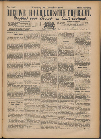 Nieuwe Haarlemsche Courant 1903-12-16