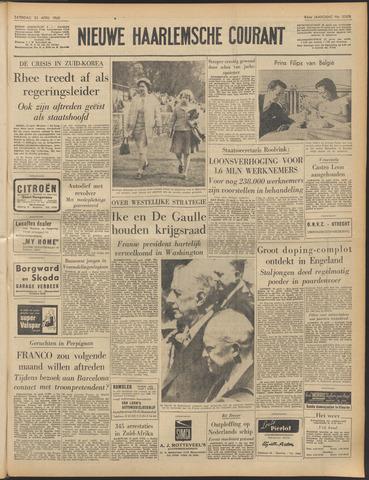 Nieuwe Haarlemsche Courant 1960-04-23