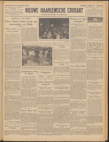 Nieuwe Haarlemsche Courant 1941-02-26