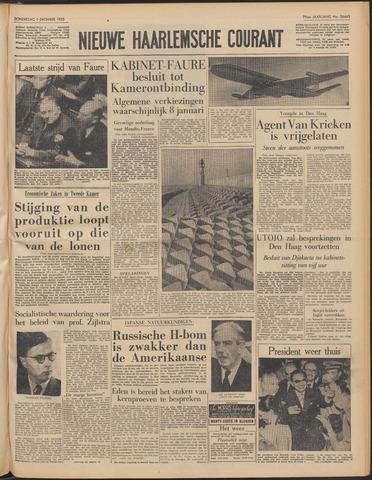 Nieuwe Haarlemsche Courant 1955-12-01
