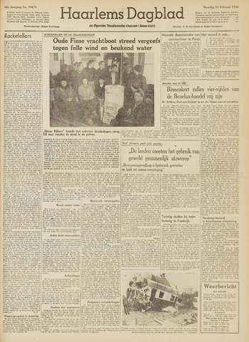 Haarlem's Dagblad 1950-02-13
