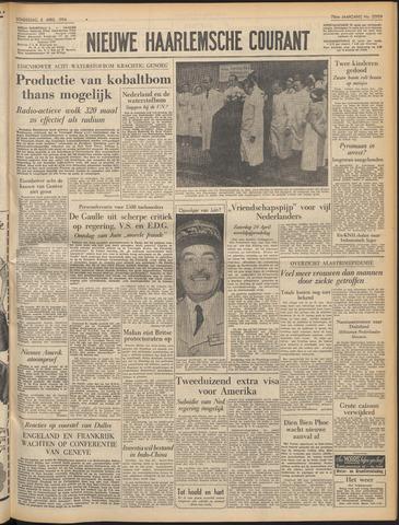 Nieuwe Haarlemsche Courant 1954-04-08