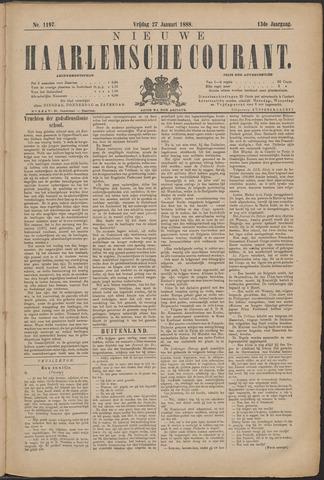 Nieuwe Haarlemsche Courant 1888-01-27