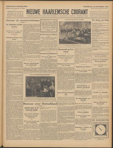 Nieuwe Haarlemsche Courant 1933-11-15