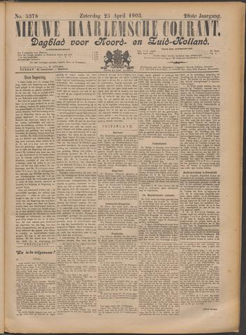Nieuwe Haarlemsche Courant 1903-04-25