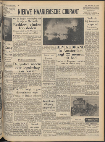 Nieuwe Haarlemsche Courant 1956-08-23