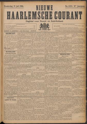 Nieuwe Haarlemsche Courant 1906-07-19