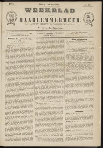 Weekblad van Haarlemmermeer 1876-12-29