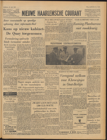 Nieuwe Haarlemsche Courant 1963-06-29