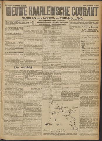 Nieuwe Haarlemsche Courant 1914-08-29