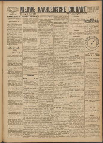 Nieuwe Haarlemsche Courant 1923-06-12