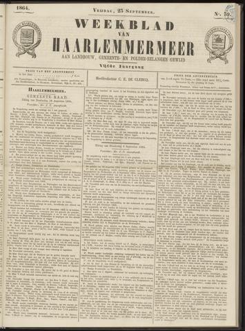 Weekblad van Haarlemmermeer 1864-09-23