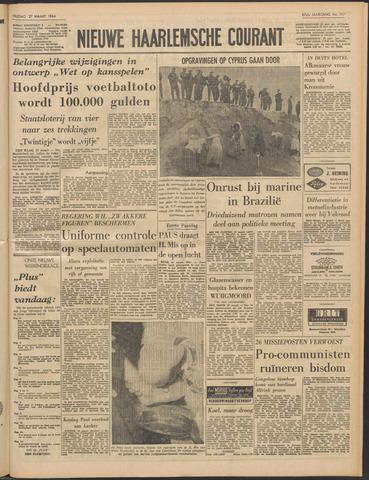 Nieuwe Haarlemsche Courant 1964-03-27