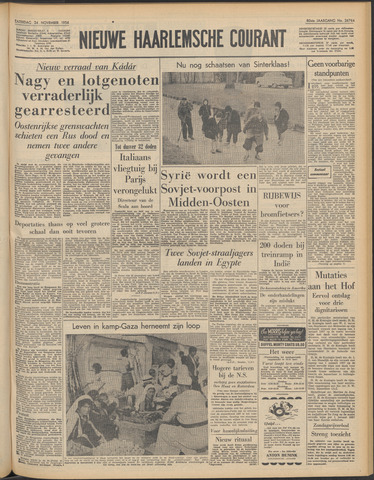 Nieuwe Haarlemsche Courant 1956-11-24