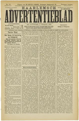 Haarlemsch Advertentieblad 1898-12-17