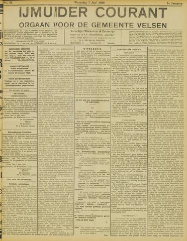 IJmuider Courant 1922-06-07