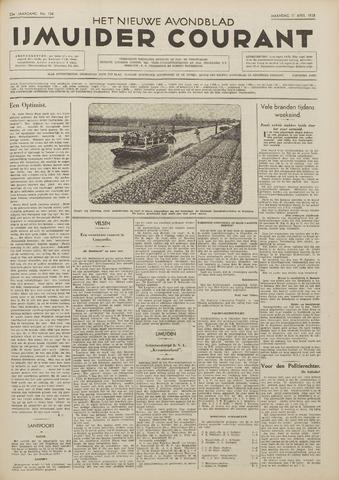 IJmuider Courant 1938-04-11