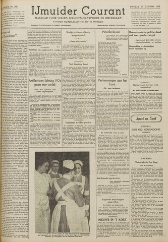 IJmuider Courant 1939-10-31