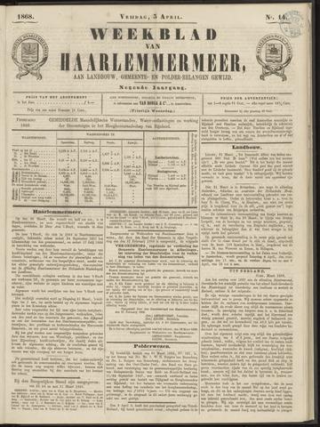 Weekblad van Haarlemmermeer 1868-04-03