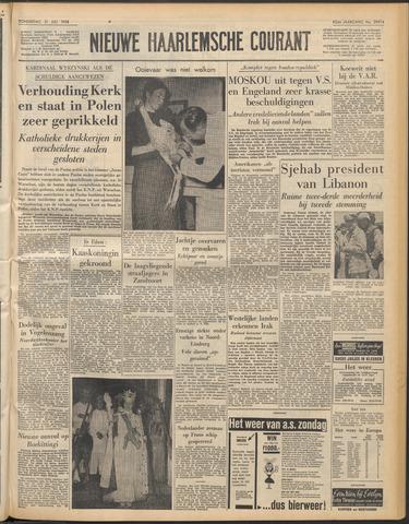 Nieuwe Haarlemsche Courant 1958-07-31