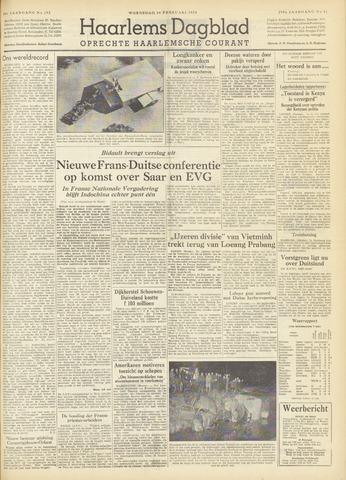 Haarlem's Dagblad 1954-02-24