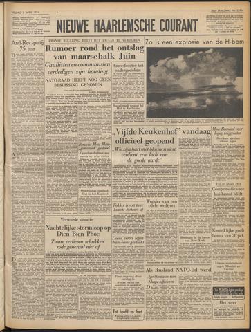 Nieuwe Haarlemsche Courant 1954-04-02