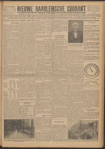 Nieuwe Haarlemsche Courant 1927-04-07