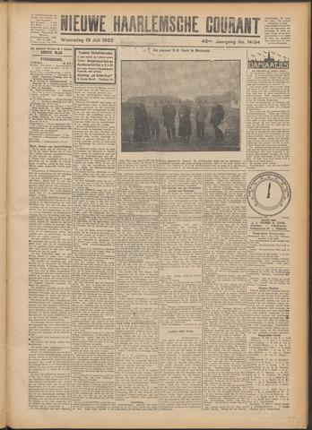 Nieuwe Haarlemsche Courant 1922-07-19