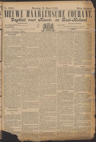 Nieuwe Haarlemsche Courant 1898-03-21