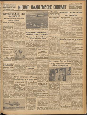 Nieuwe Haarlemsche Courant 1948-08-19