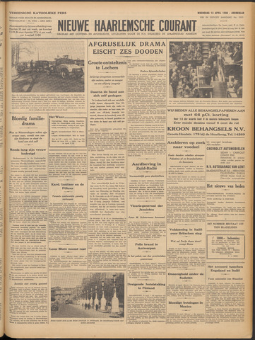 Nieuwe Haarlemsche Courant 1938-04-13