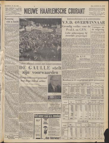 Nieuwe Haarlemsche Courant 1958-05-29