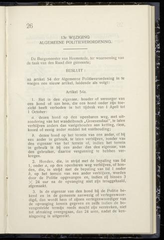 Raadsnotulen Heemstede 1942-06-23