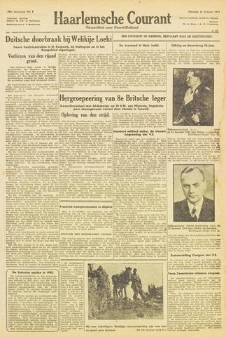 Haarlemsche Courant 1943-01-12