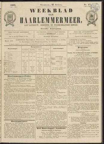 Weekblad van Haarlemmermeer 1869-04-23