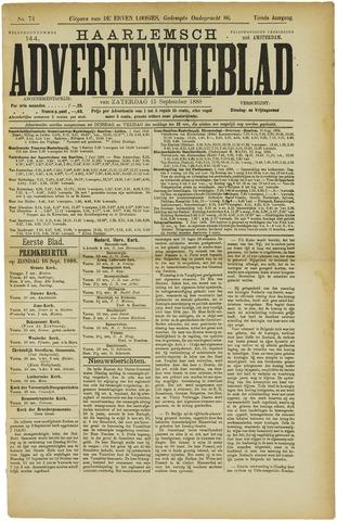 Haarlemsch Advertentieblad 1888-09-15