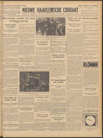Nieuwe Haarlemsche Courant 1939-01-24