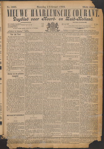 Nieuwe Haarlemsche Courant 1902-02-03